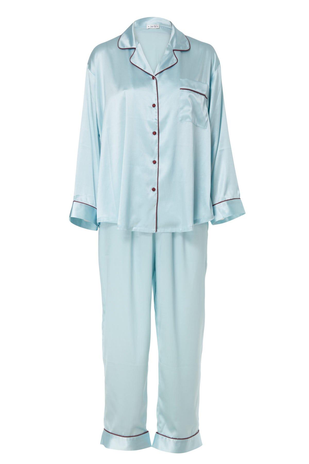 Sexy Pink Luxury Fur Bathrobe Sleepwear Night Robe Kimono