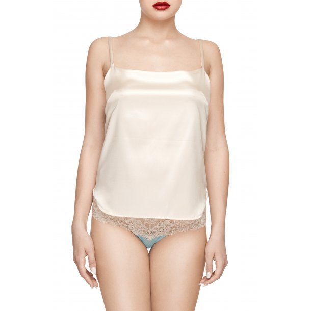 Miss Holly Blue  silk camisole